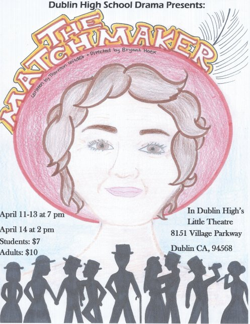 Dublin High School Drama Club Production The Matchmaker