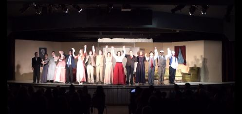 Dublin High School Drama Club Production of The Matchmaker - Closing Night Cast